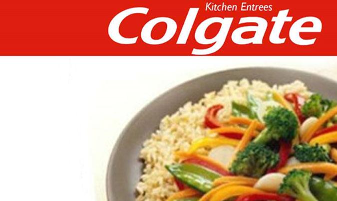 Colgate plats congelés