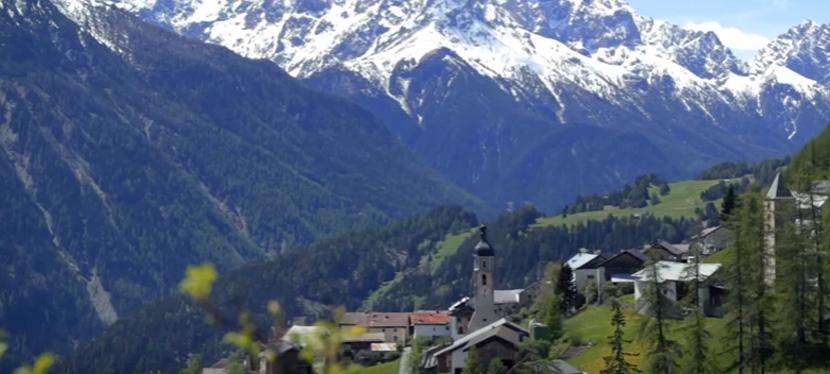 Tschlin veut prouver qu'il est le village le plus paisible de laSuisse