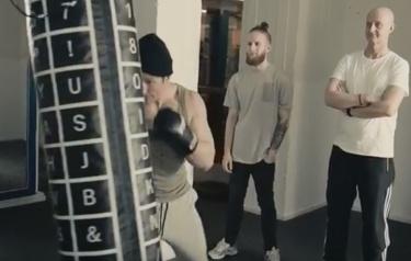 Sac de boxe connecté Björn Borg